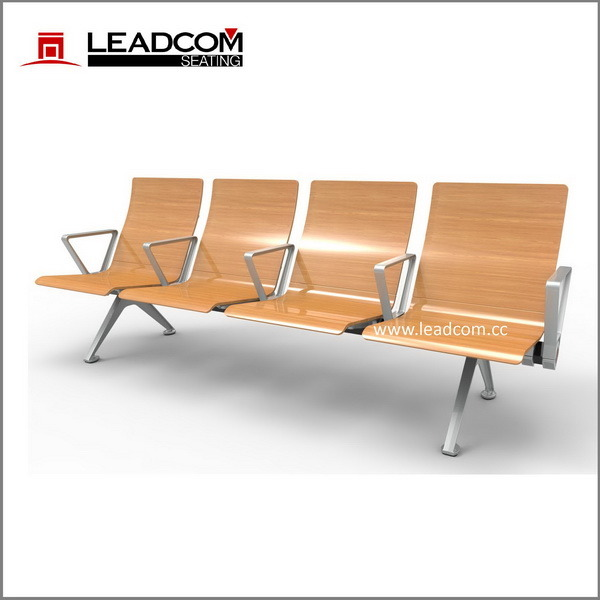 China Leadcom 4 Seater Waiting Area Bench For Airport With