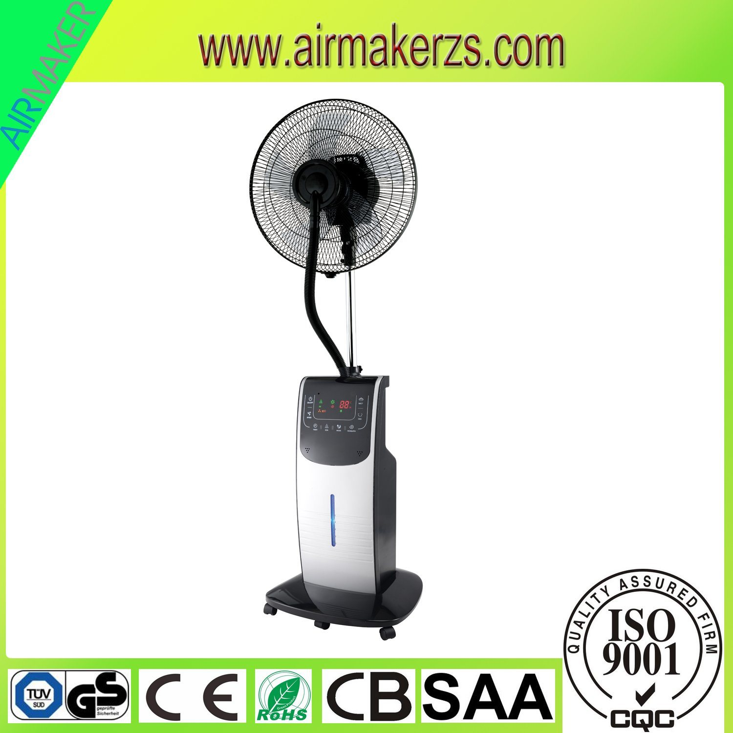 90W Indoor Outdoor Cool Water Mist Fan with Remote GS/Ce/Rohs pictures & photos