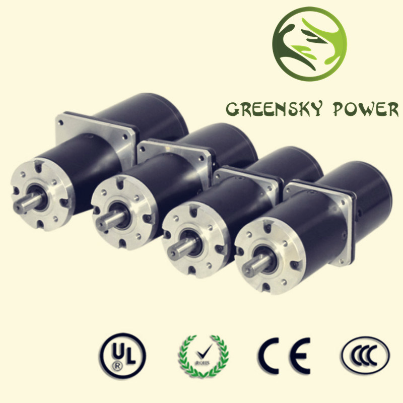 Different Voltage DC Brushless Motor for Electric Mashine