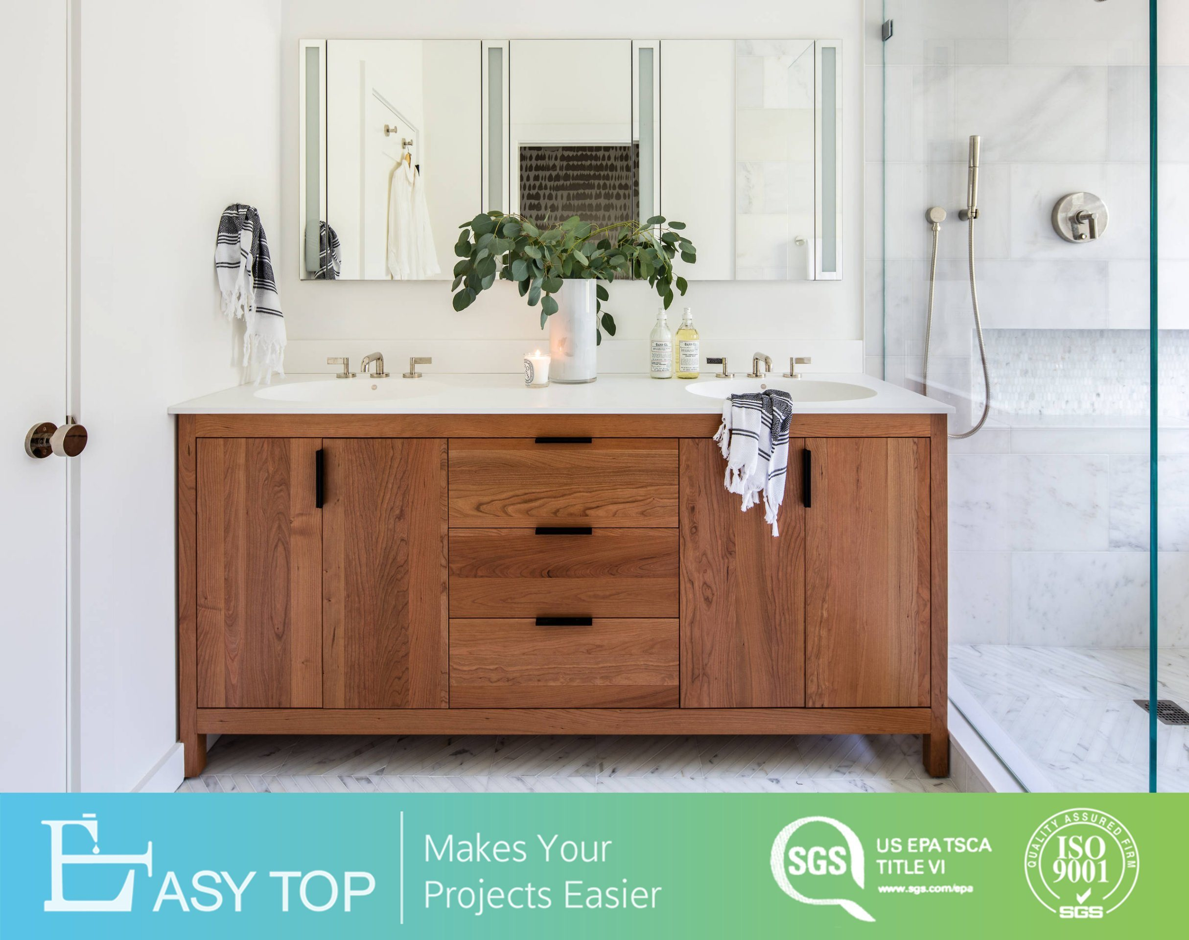 Floor Mounted Modern Solid Wood Cabinet Wholesale Wooden Bathroom Vanities With Legs China Vanity Bathroom Double Sink Double Bathroom Vanity Made In China Com