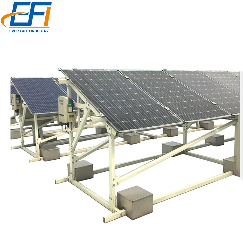 China Diy Solar Panel Mount Anodized Aluminum Pv Profile