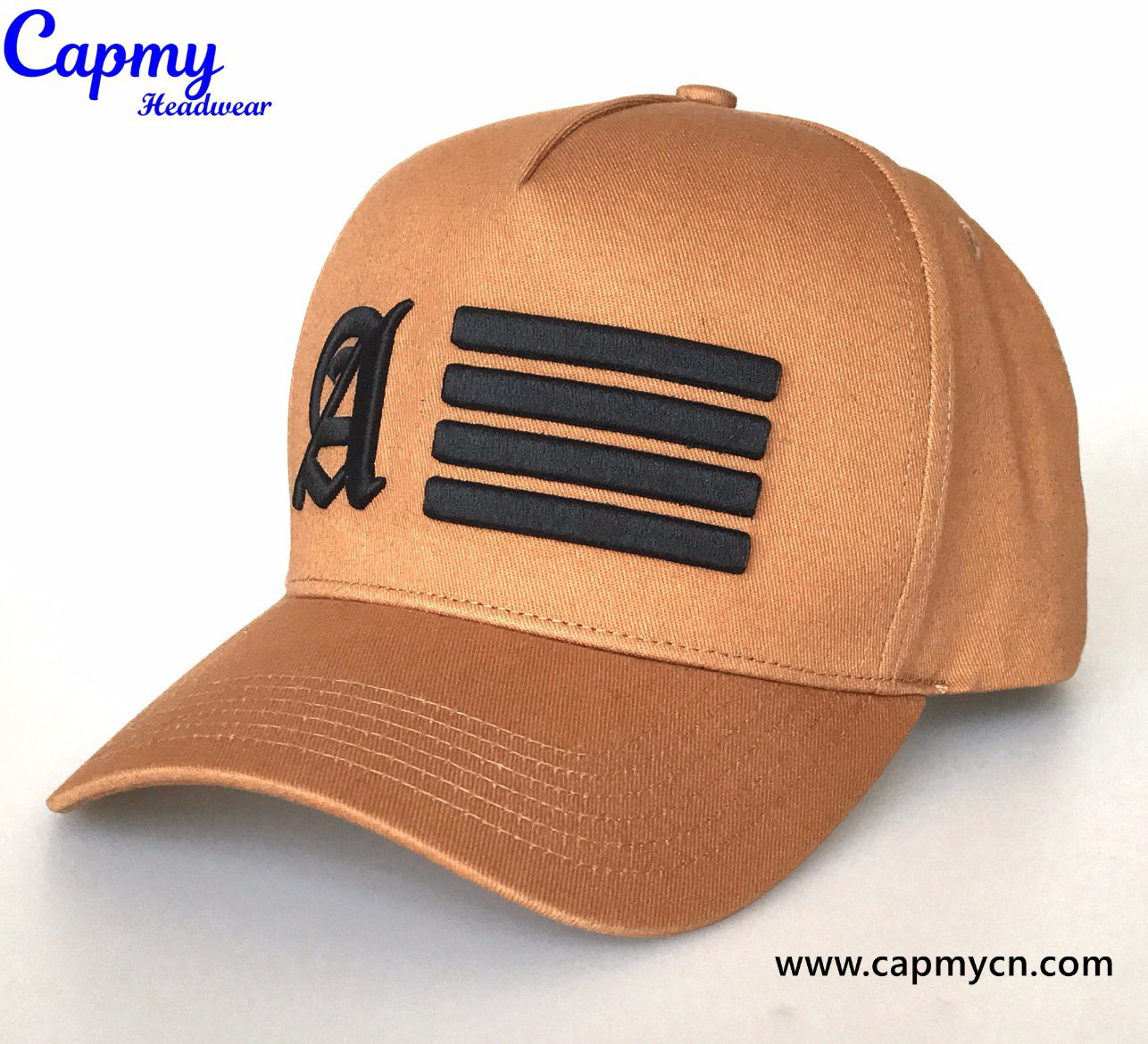 Merry Christmas Unisex Washed Twill Baseball Cap Adjustable Peaked Sandwich Hat