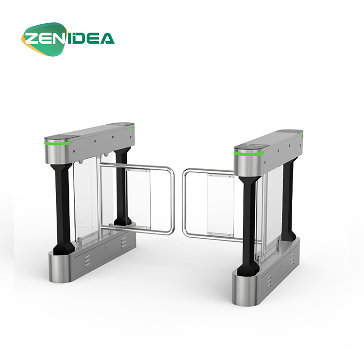 Electronic Barcode RFID Swing Turnstile Wide Passage Gate