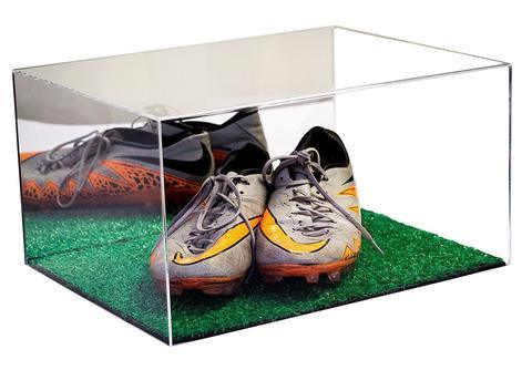 Transparent Acrylic Stackable Sneaker Box Plexiglass Shoe Display Box/Show  Case/Storage Container