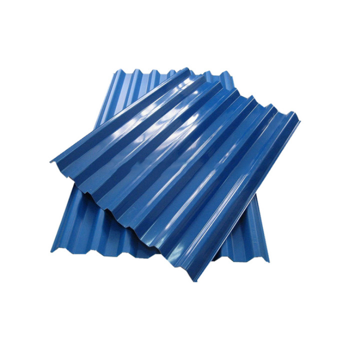 Aluminium Zinc 0.8mm Long Life Roofing Blue Corrugated Board pictures & photos