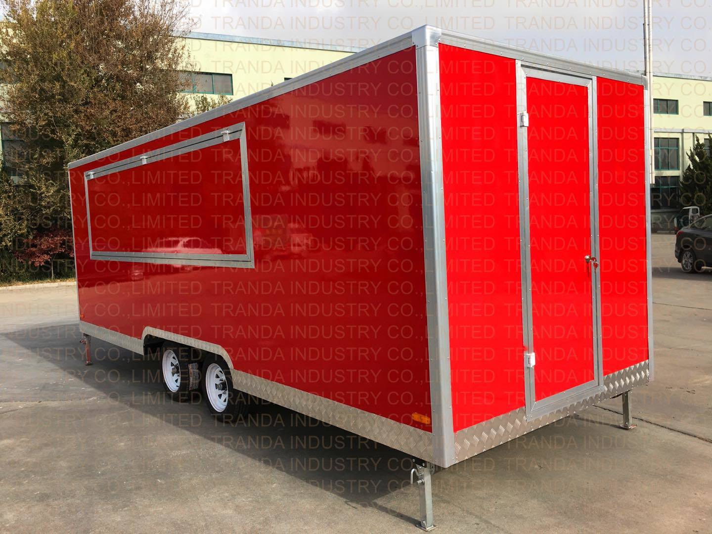 New Style Food Catering Trailer pictures & photos