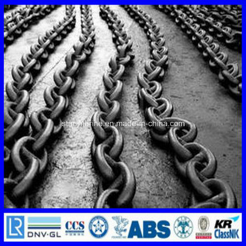 Studlink and Studless Marine Ship Anchor Chain pictures & photos