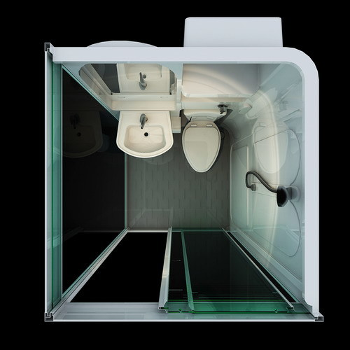 Bathroom Pods Modular Units