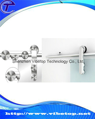 China Bathroom Glass Sliding Door Track System Bdh 18 China