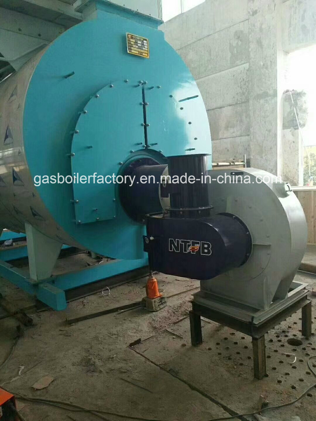 China 7-25bar 10ton Diesel Steam Boiler Automatic Control Oil or Gas ...