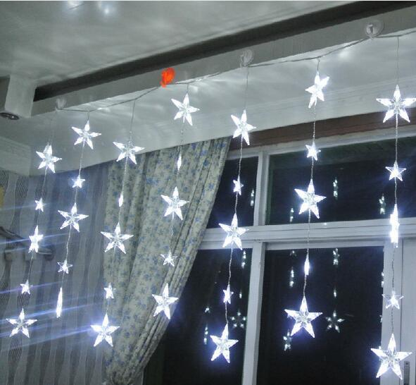 China Window Decoration LED Icicle Lights LED Starry String Light ...
