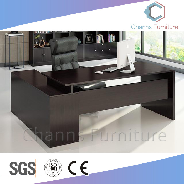 China Fashion Computer Office Furniture Desk Black Wooden Manger Table Cas Md1855