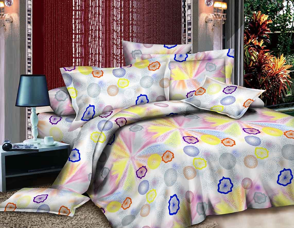 China 100 Polyester Microfiber Pigment Printed Bed Sheet Flower Designs Fabric Printing