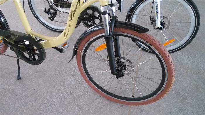 Ce 26 Inch City Electric Bike Retro Style