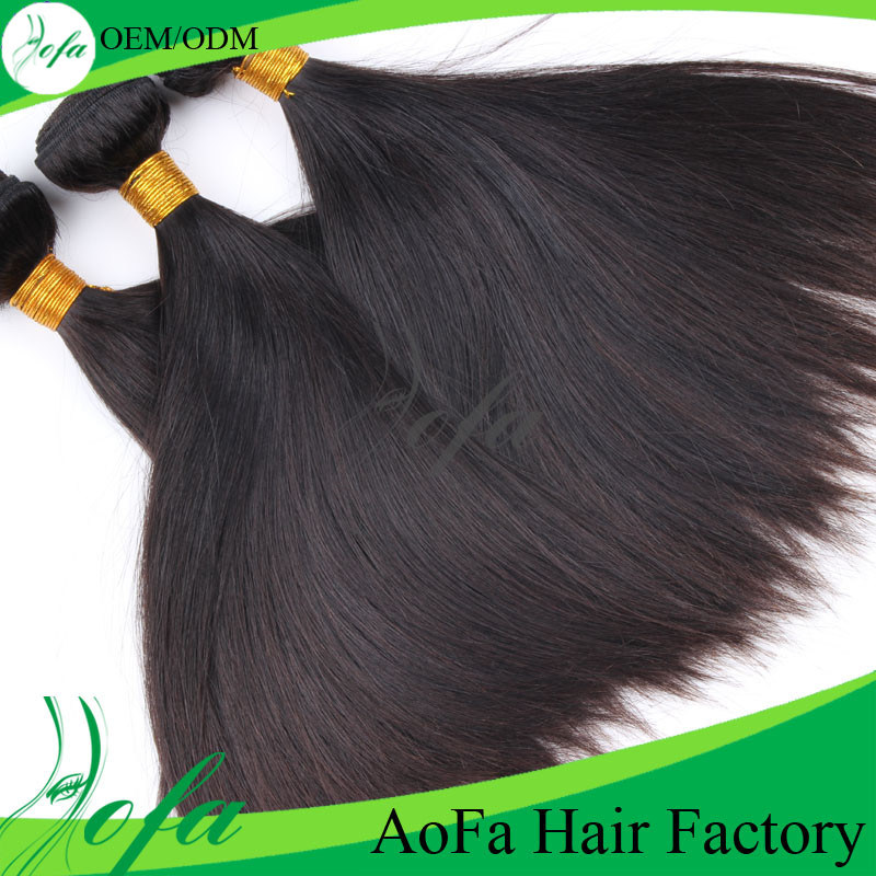 7A Grade Unprocessed Brazilian Virgin Human Hair Weft