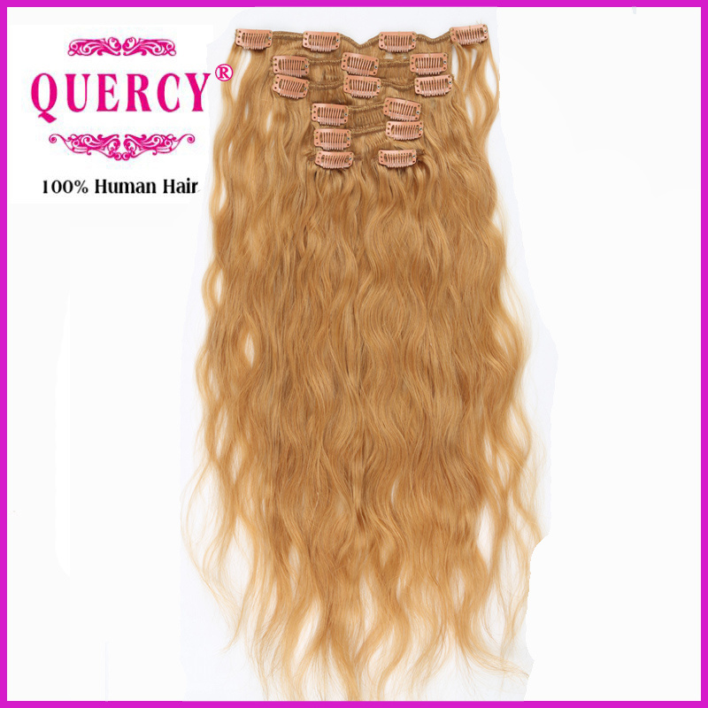 China Factory Supply High Quality Virgin Unprocessed All Colors Clip