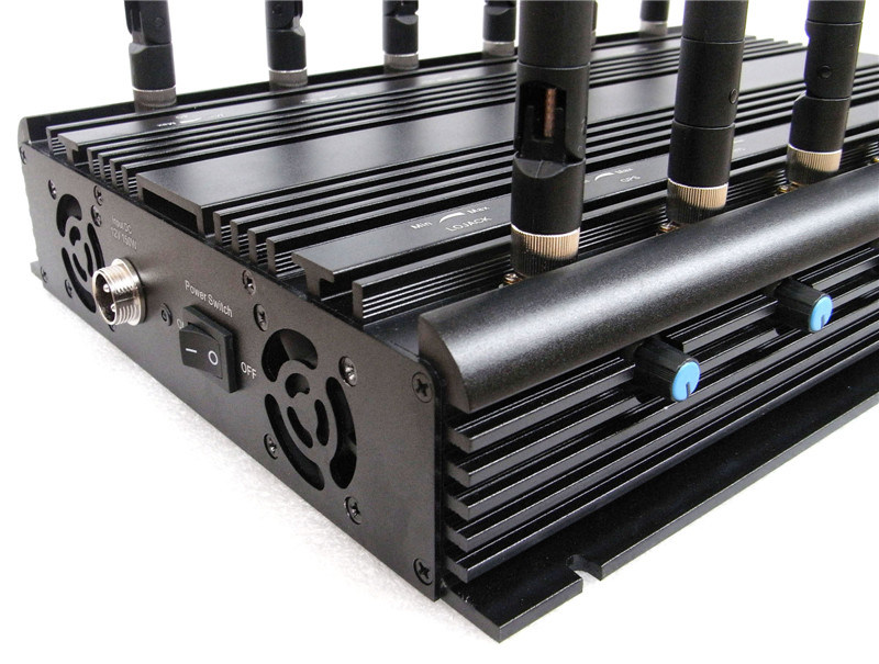 Universal 12 Antennas Adjustable WiFi GPS VHF UHF Lojack 2g 3G 4G All Bands Signal Jammer Blocker pictures & photos