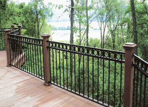 China Super Quality Hand Made Low Cost Wrought Iron Fence China
