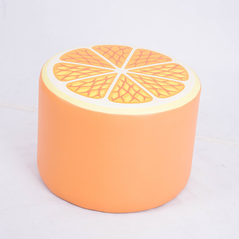Toddler Fruit Cartoon Seating Stool Ottoman Stool/Children Furntiure pictures & photos