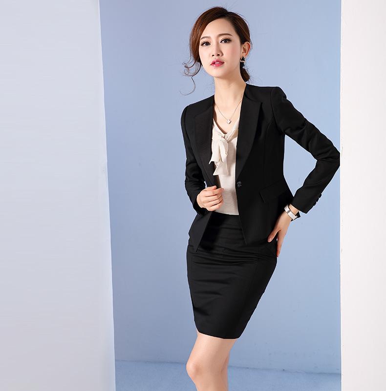 Women Black Fashion Blazer
