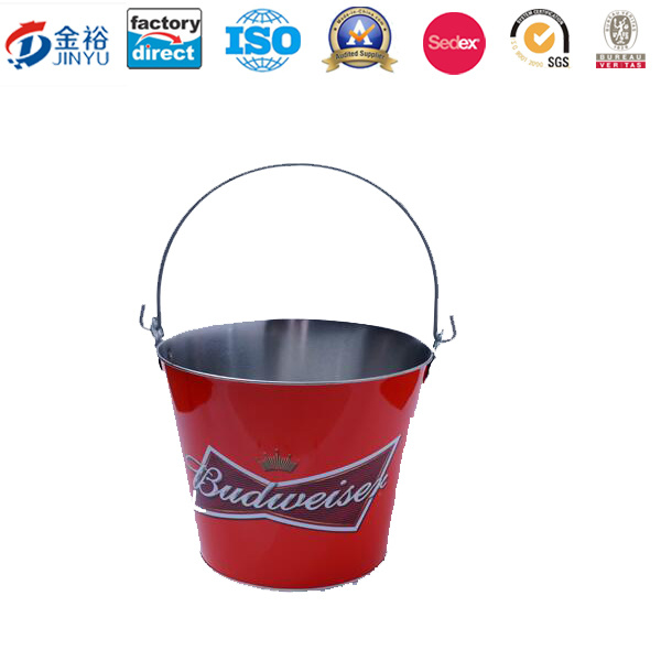 Promotional Gift Tin Ice Bucket Jy-Wd-2015120201 pictures & photos