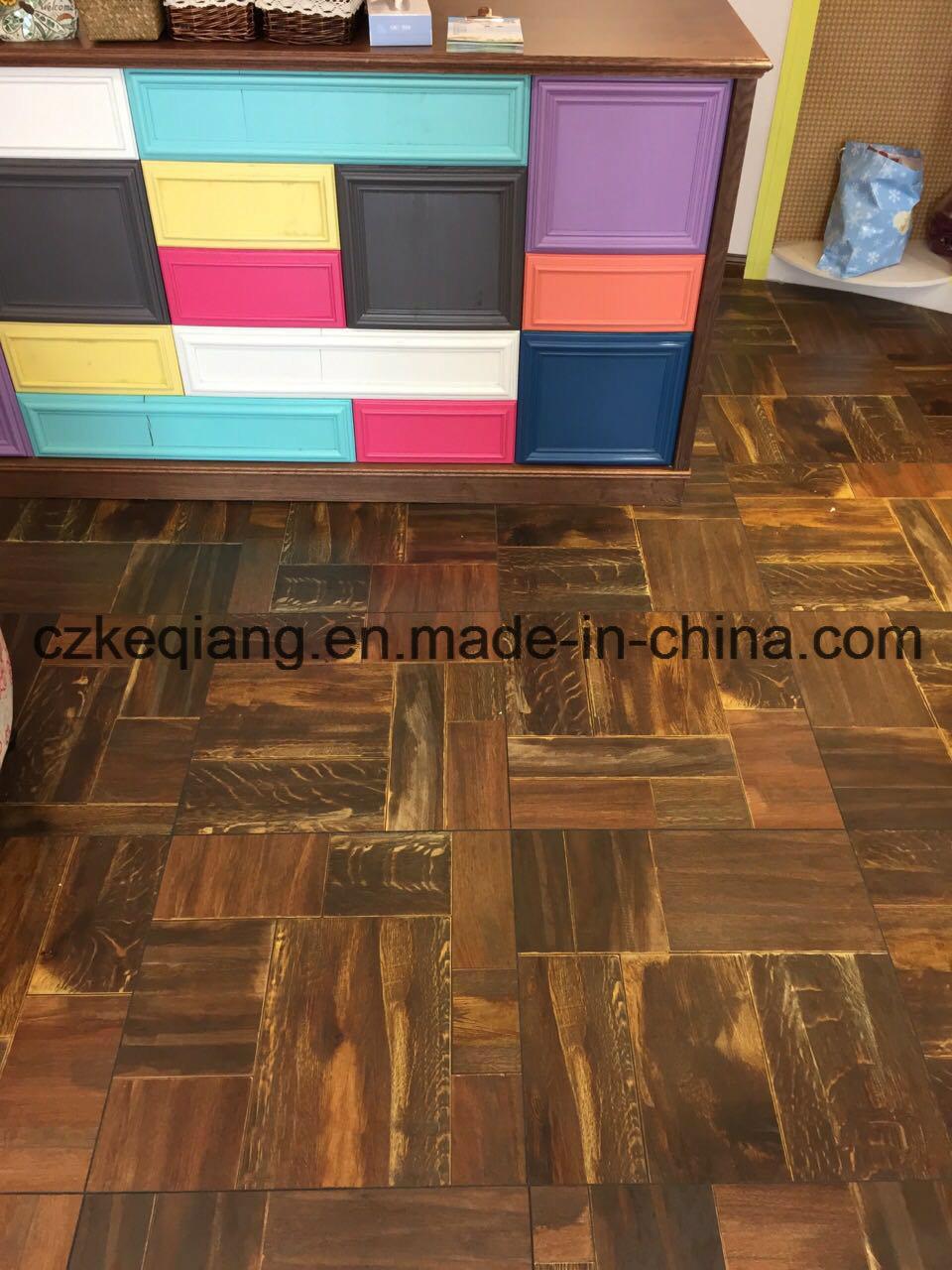 China Interior Decor Brick Effect Art Parquet Wooden Laminate Flooring Laminated Floor
