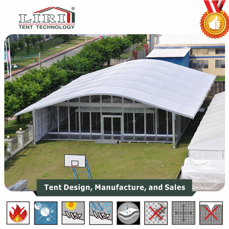 15m X 20m Arcum Tent Buildings with Glass Doors pictures & photos