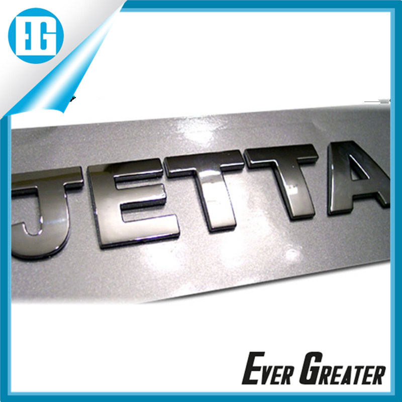 Customized Plastic Badge Emblem for Cars Outdoor