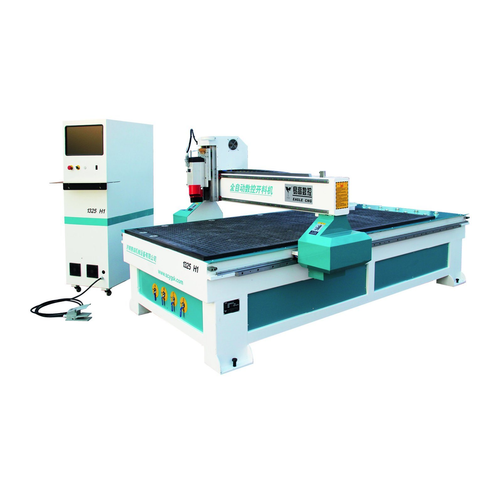 China 1325 3 Axis Cnc Wood Router Machine Wood Cutting