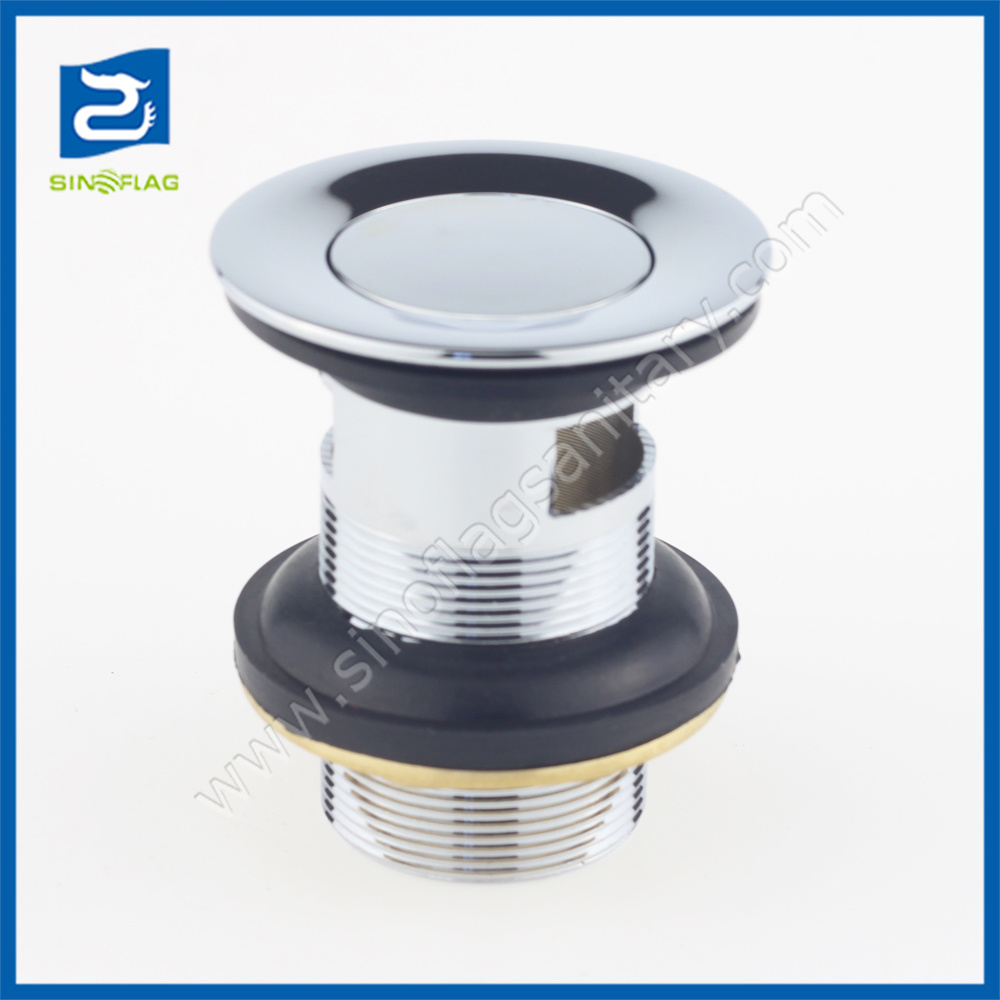 China Bathroom Basin Waste Fittings Small Cap Overflow Sink