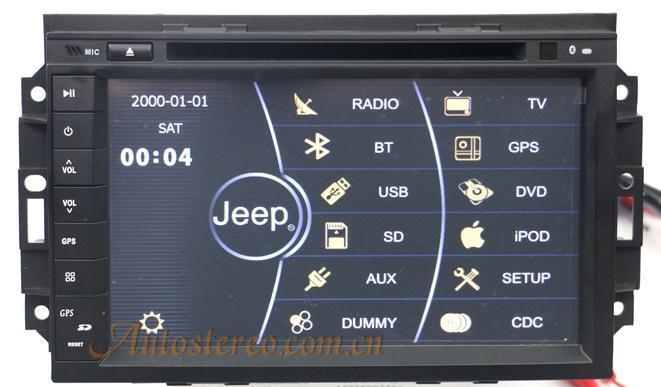 [Hot Item] GPS Navigation for Jeep Dodge Chrysler 300c (ZW-Jeep-102)