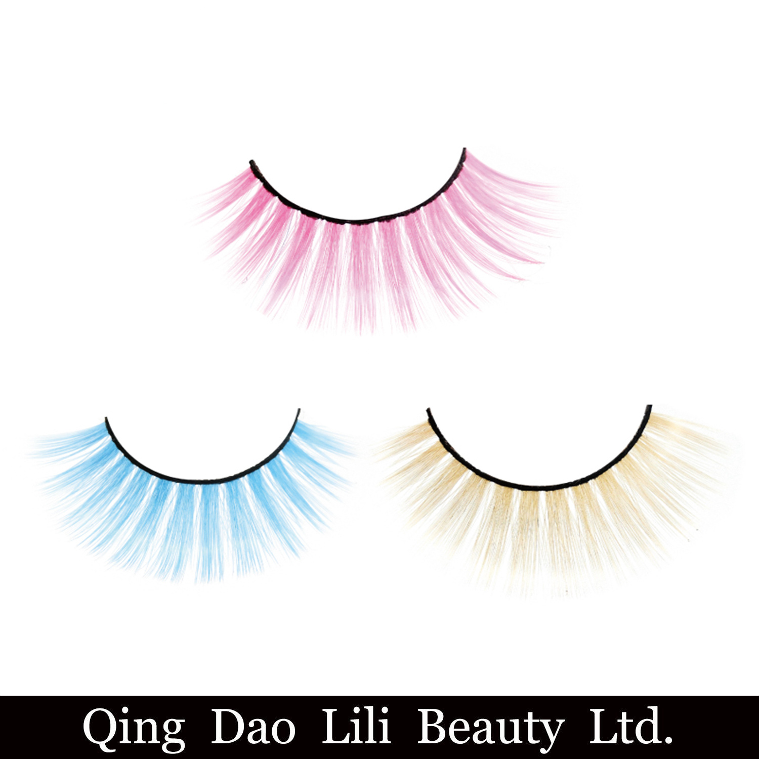 China Private Label Club Lady Crazy 3d Uv Neon Faux Mink Eyelashes