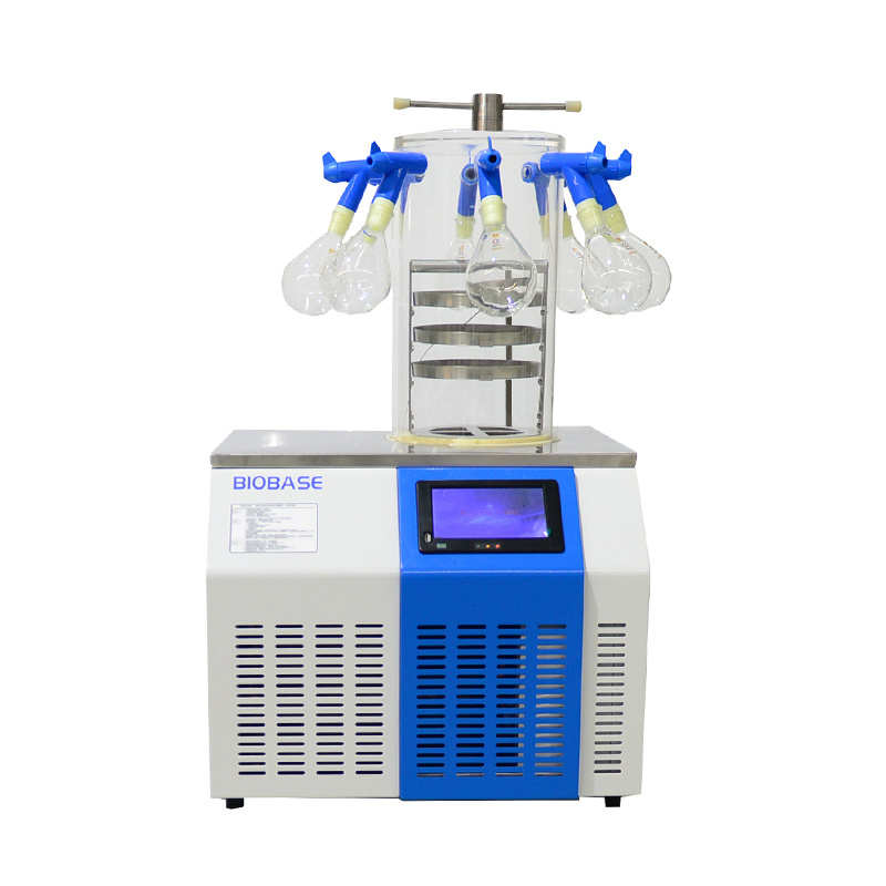 Biobase Lyophilizer Laboratory Tabletop Freeze Dryer / Freeze Drying Machine