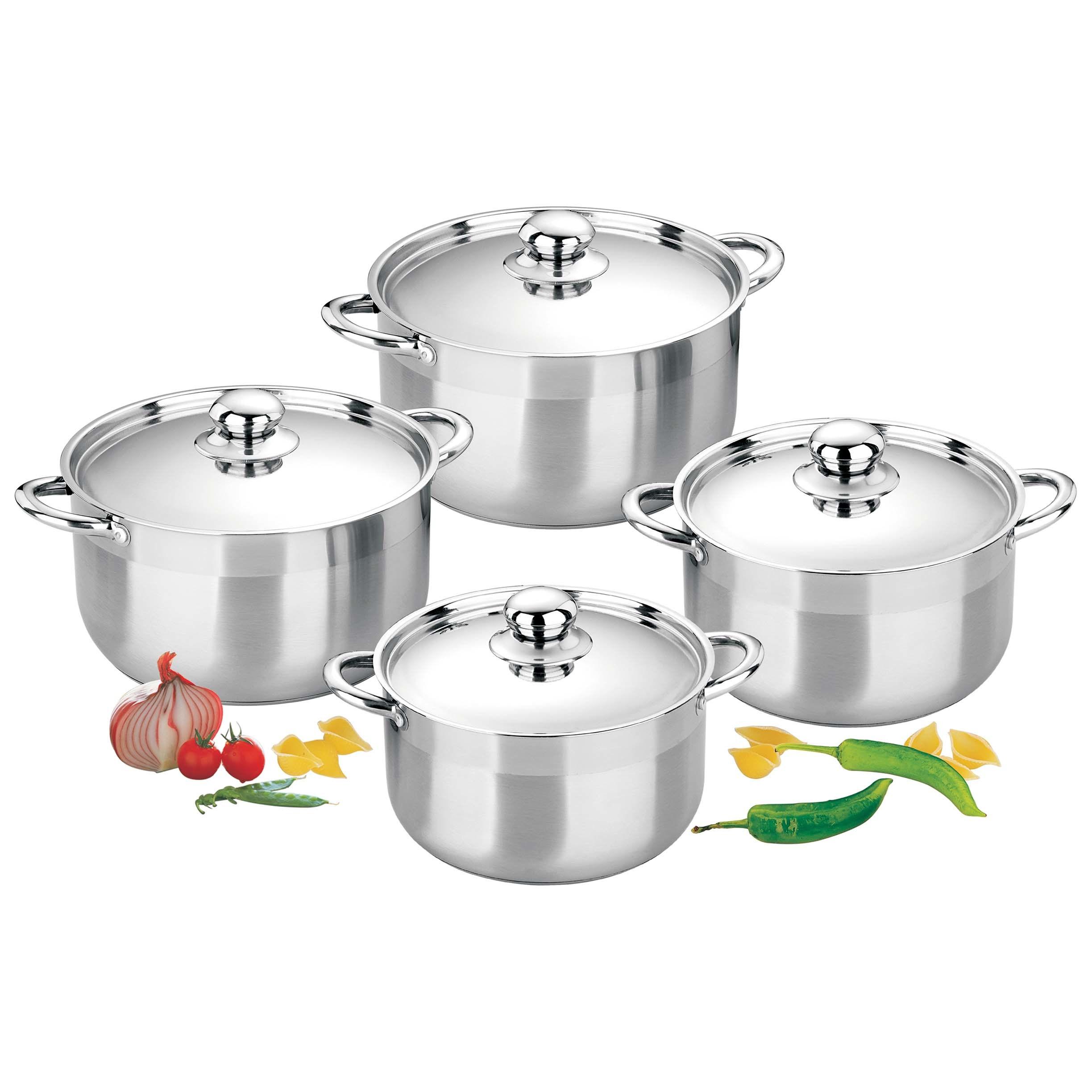 China Stainless Steel Pot Set Kitchenware Pot Sets China