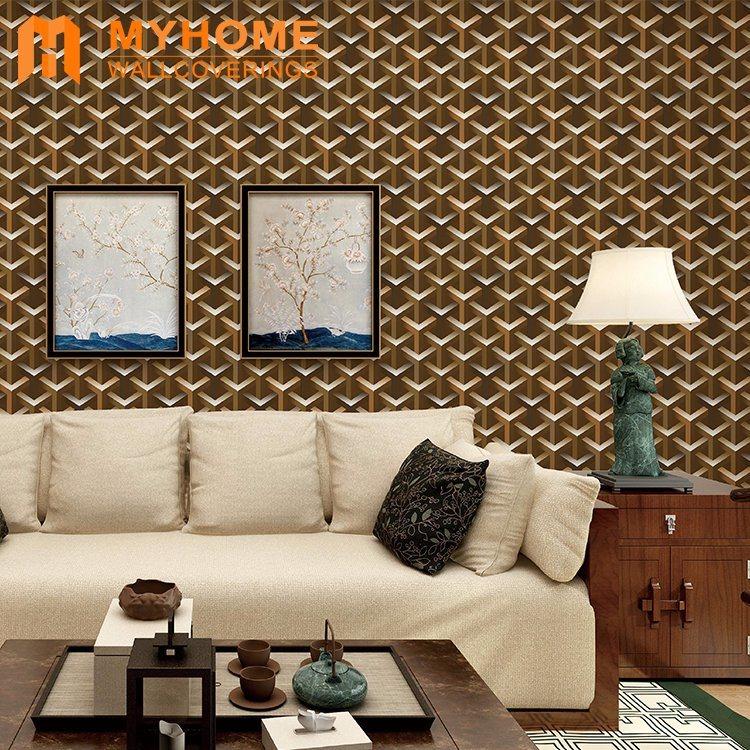Wholesale Price Wall Decoration 3D Wallpaper Guangzhou