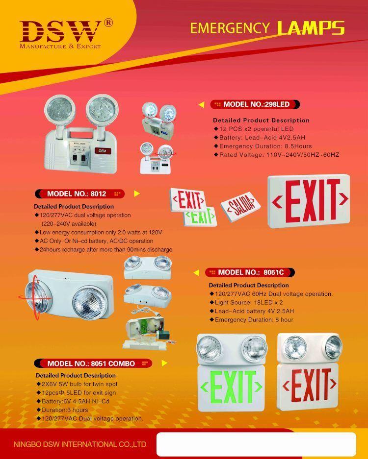 8-Hour LED Emergency Light