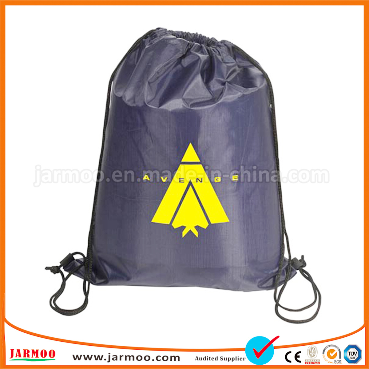 China Cheap Foldable Wholesale Company Logo Advertising Drawstring ... 087efb0b518d