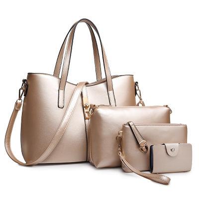2018 Women Fashion PU Leather Designer 4 PCS Sets Handbags. Get Latest Price 78c003c453c07