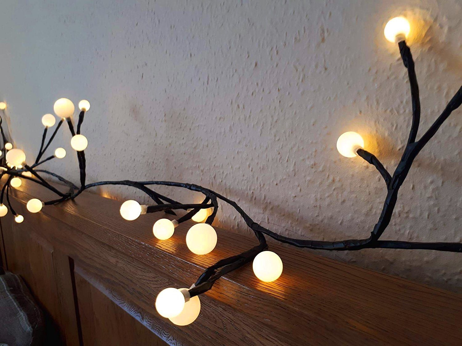 China Globe Decorative String Lights Hanging Indoor ...