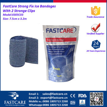 Pain Relief Elastic Cold Bandages pictures & photos