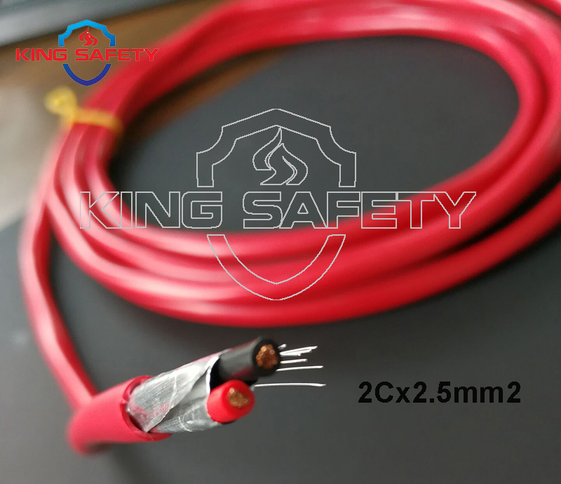 China UL Listed 2.5mm2 Fire Alarm Cable Shielded - China 2 Cores ...
