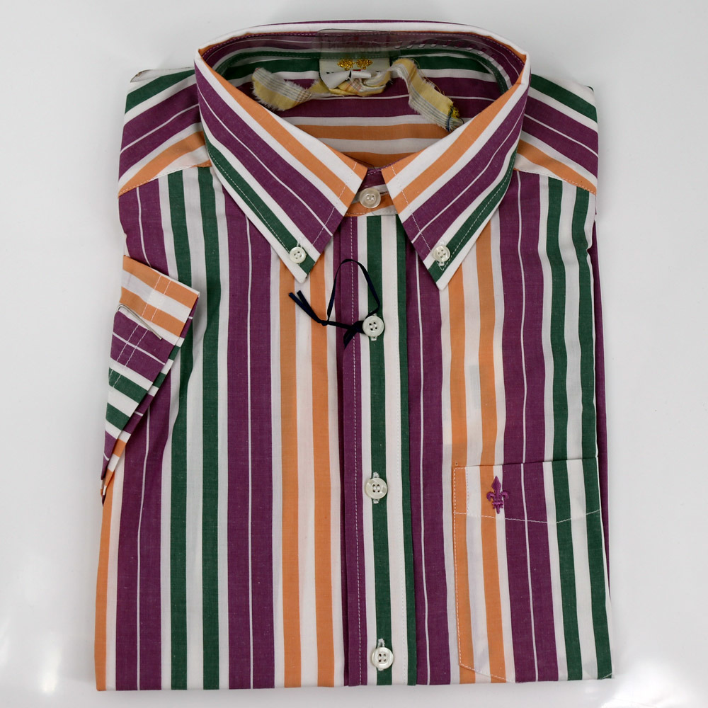 845129d02 China Colorful Striped Cotton Business Mens Shirt - China Business Shirt,  Men Shirt