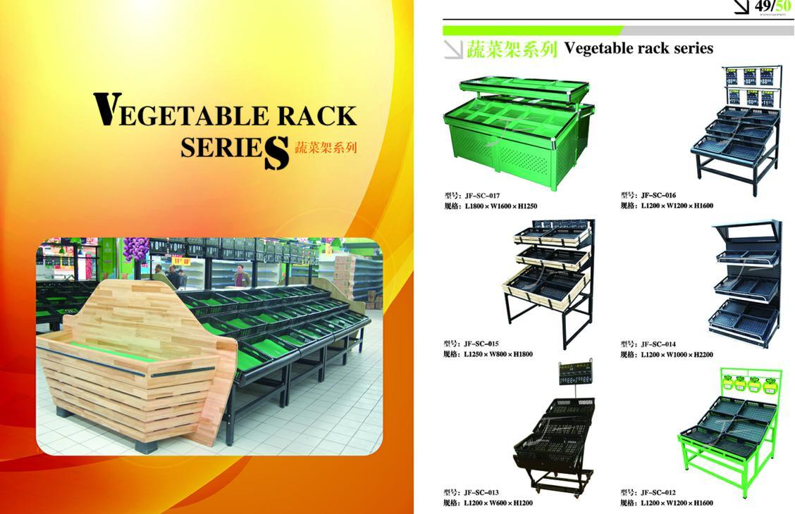 Competitive Supermarket Shelf Display Stand for Fruits and Vegetable with High Quality