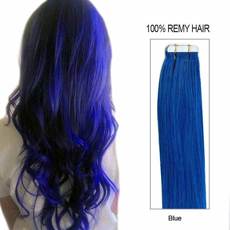 China 100 Human Tape Hair Extension Virgin Hair Color 30 Inch Remy