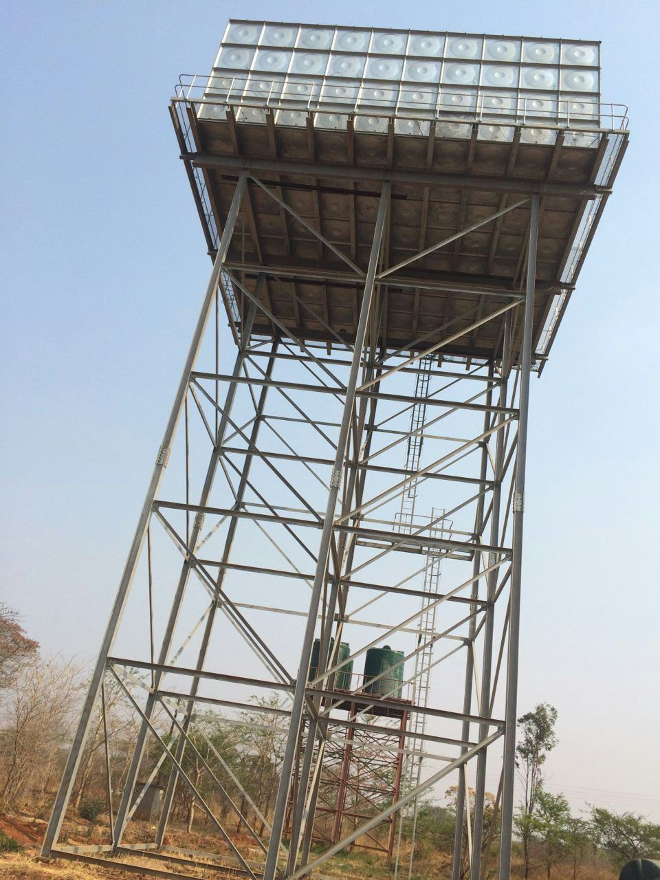 Expo Stand Builders : China steel structure water tank tower ly