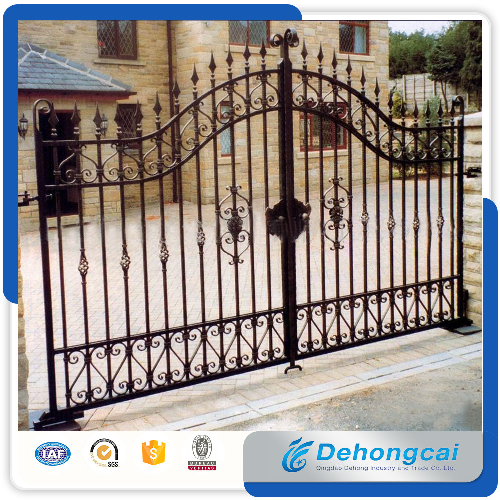 Gate Grill Iron Grill: China Factory Wholesale Used Beautiful House Main Wrought