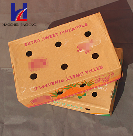 Fruit & Vegetable Carton Corrugated Packing Packaging Box Tray
