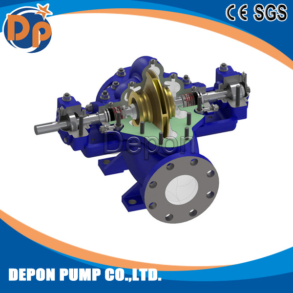 Single Stage Double Suction Water Pump with High Capacity pictures & photos