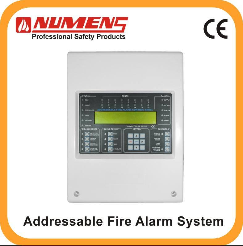 China Addressable 2-Wire Fire Alarm Control Panel, 1-Loop, 24V (6000 ...