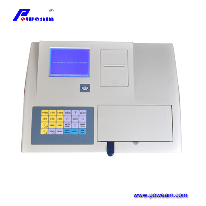 Lab Semi-Automatic Biochemistry Analyzer (WHY7000D) pictures & photos